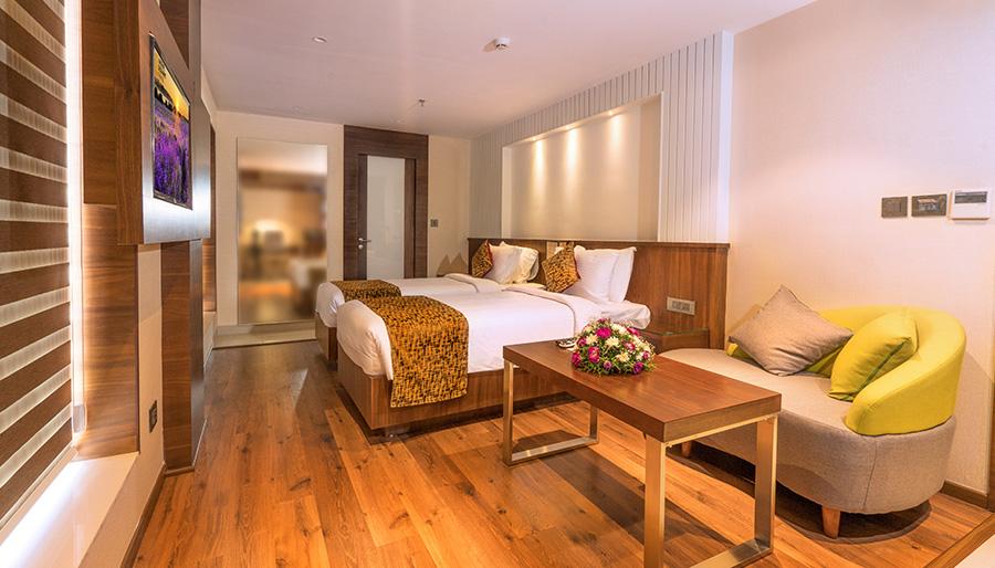 Twin Room in Coral Isle Kochi