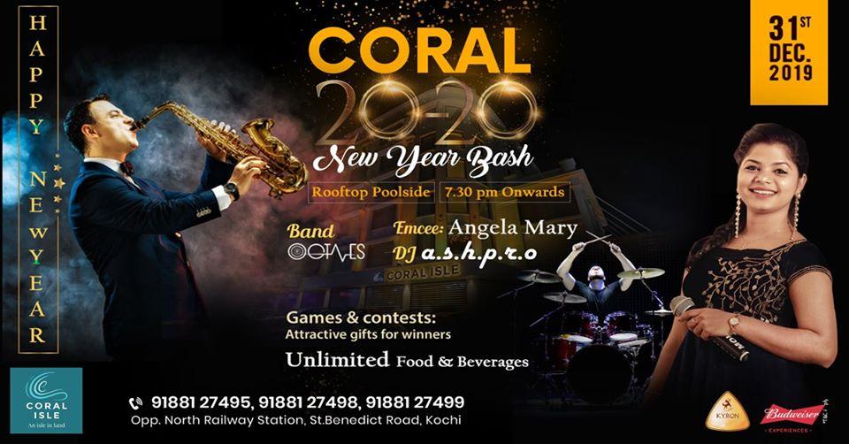 Coral Isle New Year Bash Kochi